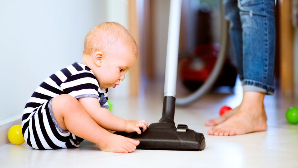 Keep Surfaces clean baby,